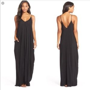 Maxi swim cover w/pockets